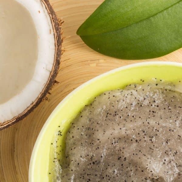 Gommage au sable et coco